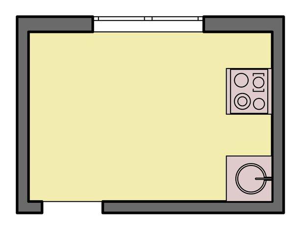 Фотография: Прочее в стиле , Кухня и столовая, Интерьер комнат, Перепланировка, kuhnya-8-kv-metrov, П-111М, И-79-99, П44т – фото на INMYROOM
