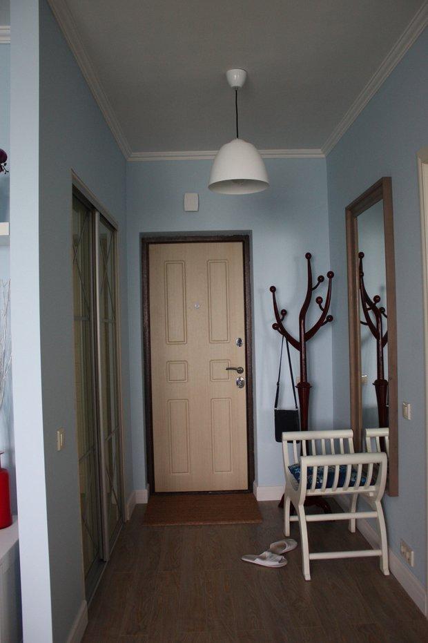 Фотография: Прихожая в стиле Современный, Малогабаритная квартира, Квартира, Дома и квартиры, Ремонт – фото на INMYROOM