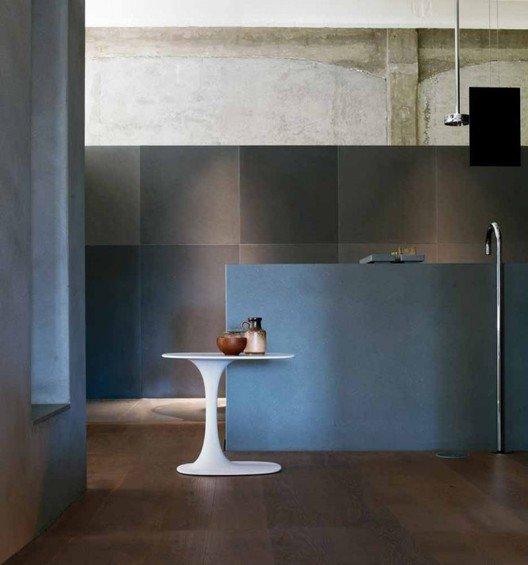 Фотография: Ванная в стиле Лофт, Минимализм, Квартира, Цвет в интерьере, Дома и квартиры, B&B Italia – фото на INMYROOM