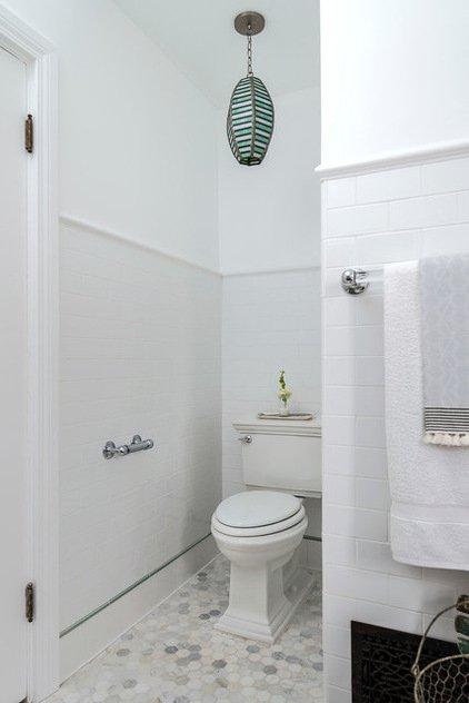 Фотография: Ванная в стиле Прованс и Кантри, Скандинавский, Интерьер комнат – фото на INMYROOM