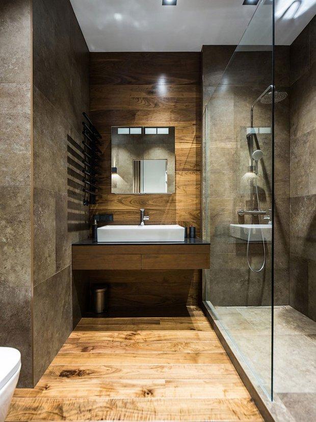 Фотография: Ванная в стиле Лофт, Советы, Перепланировка, Руслан Кирничанский – фото на INMYROOM