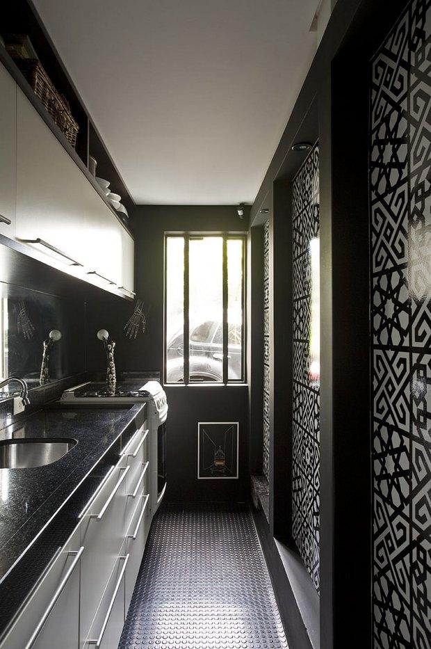 Фотография: Кухня и столовая в стиле Современный, Квартира, Дома и квартиры, Интерьеры звезд – фото на INMYROOM