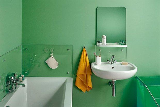 Фотография: Ванная в стиле Современный, Интерьер комнат, Декоративная штукатурка – фото на INMYROOM