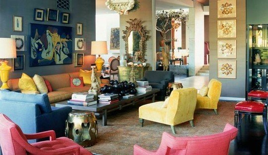 Фотография: Гостиная в стиле Прованс и Кантри, Индустрия, Люди, Посуда, Ретро – фото на INMYROOM