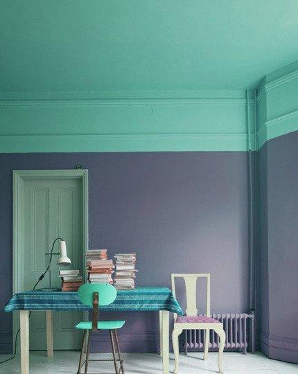 Фотография: Мебель и свет в стиле Прованс и Кантри, Декор интерьера, Декор дома, Цвет в интерьере, Обои – фото на INMYROOM