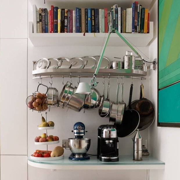Фотография: Спальня в стиле Современный, Кухня и столовая, Перепланировка, Finnish – фото на INMYROOM