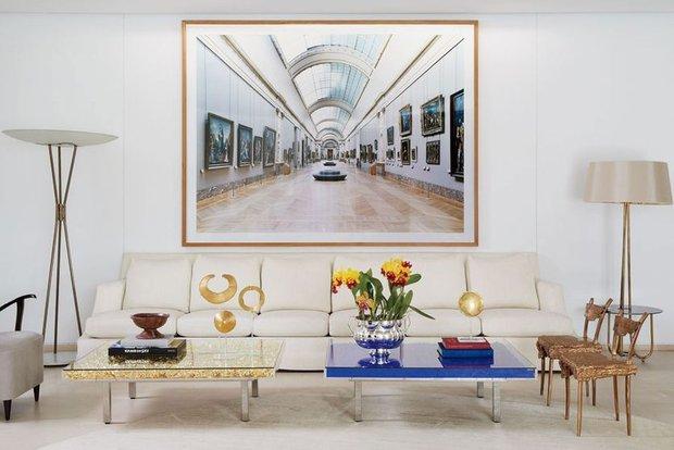 Фотография: Гостиная в стиле Эклектика, Гид, Жан-Луи Денио – фото на INMYROOM