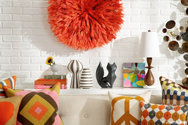 Фотография: Декор в стиле Эклектика, Декор интерьера, Декор дома, Цвет в интерьере, Геометрия в интерьере – фото на INMYROOM