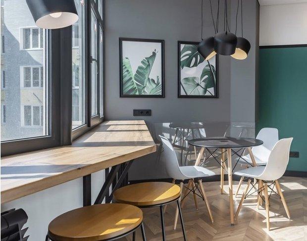 Фотография: Кухня и столовая в стиле Минимализм, Советы, Подоконник, как задействовать подоконник – фото на INMYROOM