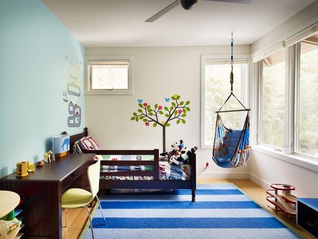 Фотография: Детская в стиле Современный, Декор интерьера, Квартира, Дом, Мебель и свет – фото на INMYROOM