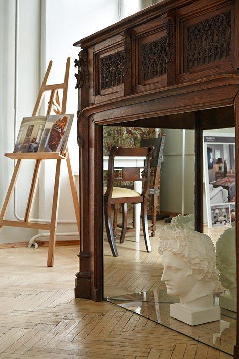 Фотография:  в стиле Классический, Современный, Офисное пространство, Офис, Дома и квартиры – фото на InMyRoom.ru