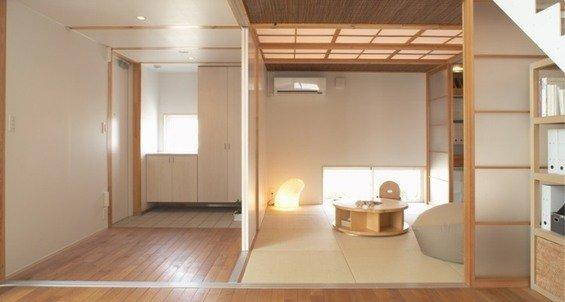 Фотография: Мебель и свет в стиле Восточный, Эко, Дом, Дома и квартиры, Япония – фото на INMYROOM