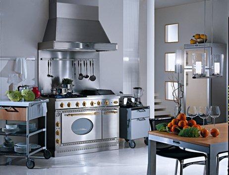 Фотография: Кухня и столовая в стиле Лофт, Современный, Интерьер комнат, Встраиваемая техника – фото на INMYROOM