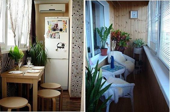 Фотография: Кухня и столовая в стиле Современный, Балкон, Декор интерьера, Квартира, Интерьер комнат – фото на INMYROOM