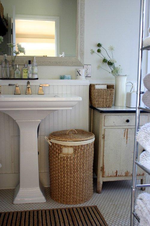 Фотография: Ванная в стиле Прованс и Кантри, Современный, Интерьер комнат – фото на INMYROOM