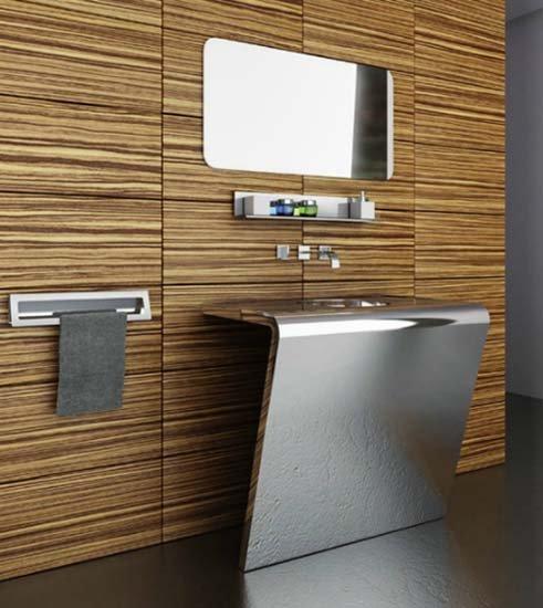 Фотография: Ванная в стиле Хай-тек, Декор интерьера, Интерьер комнат – фото на INMYROOM
