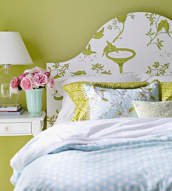 Фотография: Спальня в стиле Прованс и Кантри, Декор интерьера, DIY, Обои – фото на INMYROOM