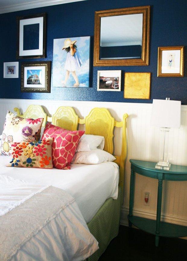 Фотография: Спальня в стиле Прованс и Кантри, Освещение, Декор, Советы, Ремонт на практике – фото на INMYROOM