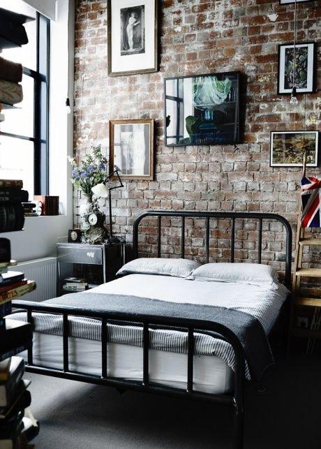 Фотография: Спальня в стиле Лофт, Дизайн интерьера, Декор, Индустриальный – фото на INMYROOM