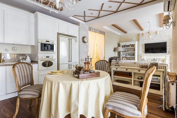 Фотография: Кухня и столовая в стиле Современный, Гостиная, Советы – фото на INMYROOM