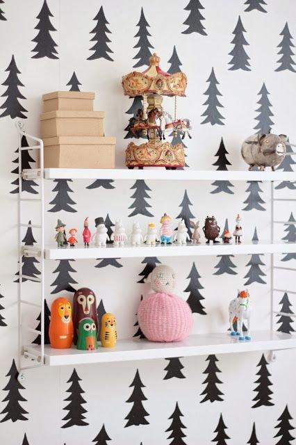 Фотография: Декор в стиле Современный, Детская, Декор интерьера, Интерьер комнат, Обои – фото на INMYROOM
