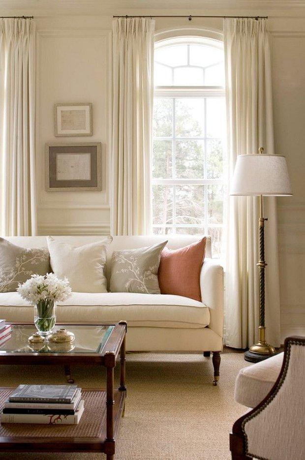 Фотография:  в стиле , Декор интерьера, Декор, Советы, Шторы, декор окна, текстиль для окна, декор окон – фото на INMYROOM