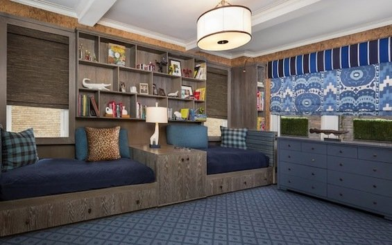Фотография: Гостиная в стиле Современный, Спальня, Гардеробная, Декор интерьера, Интерьер комнат, Системы хранения, Кровать, Гардероб – фото на INMYROOM