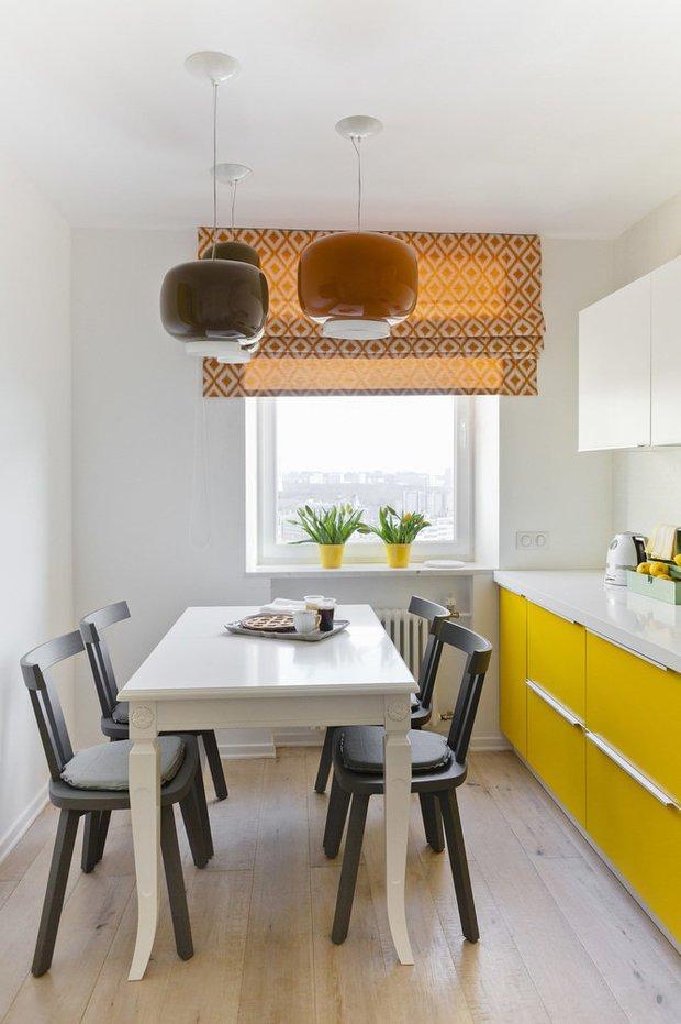 Фотография: Кухня и столовая в стиле Скандинавский, Перепланировка, Finish – фото на INMYROOM