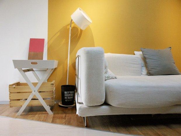 Фотография: Мебель и свет в стиле Лофт, Малогабаритная квартира, Квартира, Дома и квартиры, Чердак, Мансарда – фото на INMYROOM