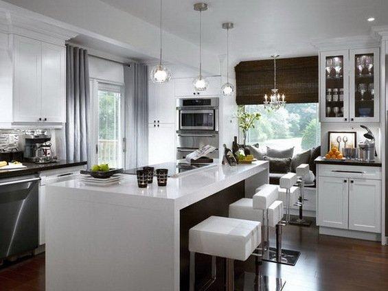 Фотография: Кухня и столовая в стиле Современный, Декор интерьера, Мебель и свет – фото на INMYROOM