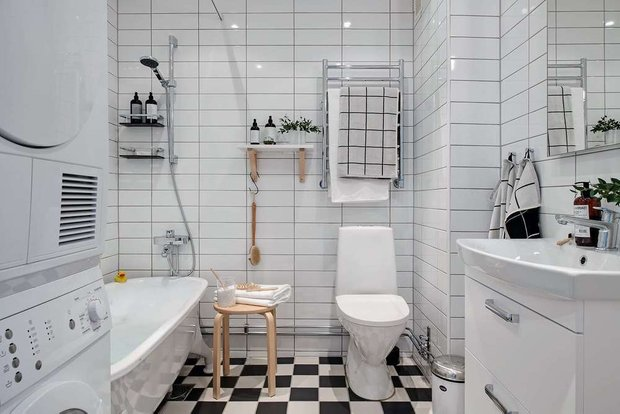 Фотография: Ванная в стиле Скандинавский, Кухня и столовая, Советы, уборка ванной комнаты, Уборка, секреты уборки, как облегчить процесс уборки, Meine Liebe, уборка на кухне – фото на INMYROOM