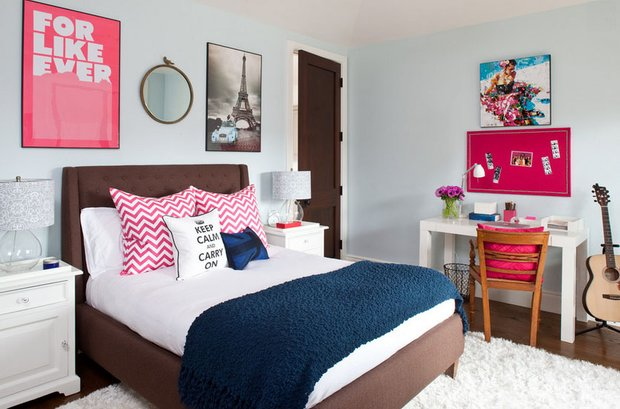 Фотография: Спальня в стиле Современный, Декор интерьера, DIY, Хранение, Советы – фото на INMYROOM