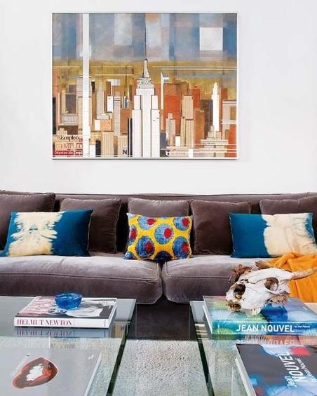 Фотография: Гостиная в стиле Скандинавский, Эклектика, Декор интерьера, Дом, Антиквариат, Дома и квартиры, Стена, Мадрид – фото на INMYROOM