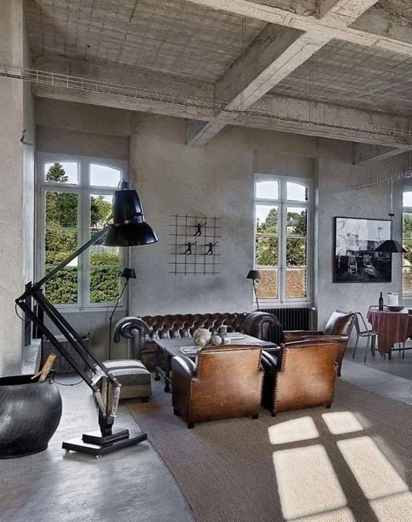 Фотография: Гостиная в стиле Лофт, Дизайн интерьера, Декор, Индустриальный – фото на INMYROOM