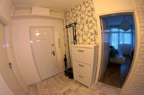 Фотография: Прихожая в стиле Скандинавский, DIY, Малогабаритная квартира, Квартира, Дома и квартиры – фото на INMYROOM