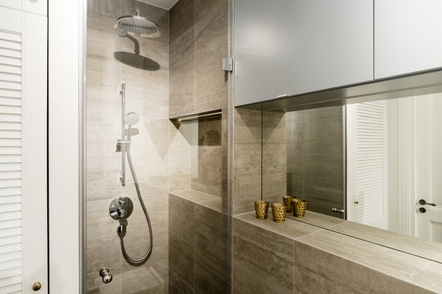 Фотография: Ванная в стиле Современный, Декор интерьера, Малогабаритная квартира, Польша – фото на InMyRoom.ru