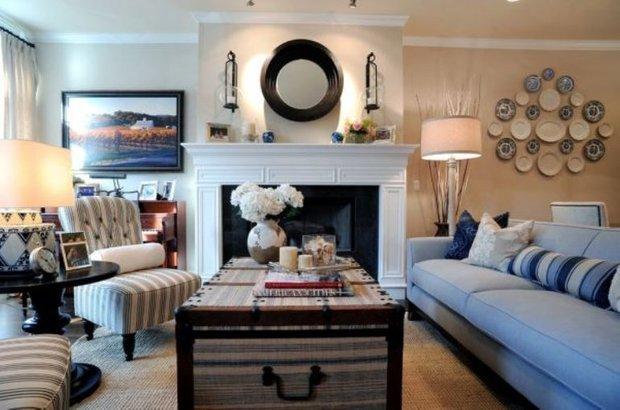 Фотография: Гостиная в стиле Прованс и Кантри, Классический, Современный, Декор интерьера, Декор дома – фото на INMYROOM