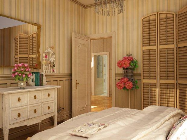 Фотография: Спальня в стиле Прованс и Кантри, Классический, Современный, Кухня и столовая, Дом, Дома и квартиры – фото на InMyRoom.ru