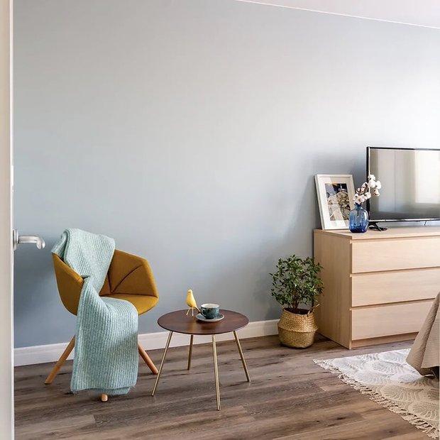 Фотография: Гостиная в стиле Современный, Малогабаритная квартира, Квартира, Советы, Проект недели, Buro Brainstorm, 1 комната, до 40 метров – фото на INMYROOM