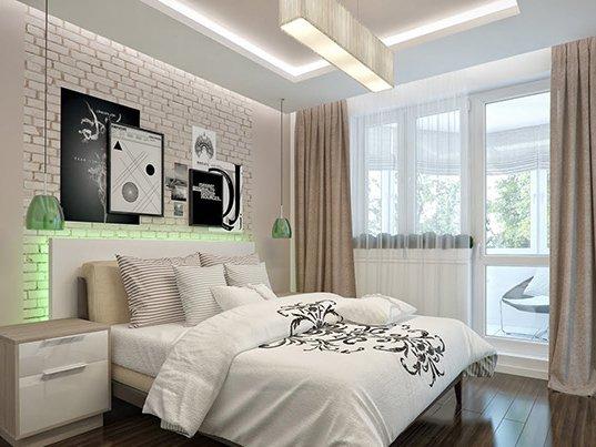 Фотография: Спальня в стиле Лофт, Современный, Интерьер комнат – фото на INMYROOM