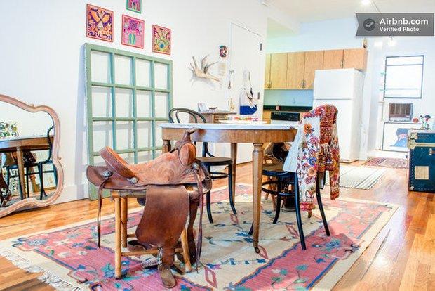 Фотография: Спальня в стиле Скандинавский, Современный, Airbnb – фото на INMYROOM