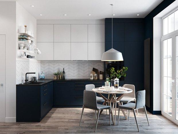 Фотография: Кухня и столовая в стиле Современный, Советы, мебель на заказ, Kronospan, столешница, кухонная мебель – фото на INMYROOM