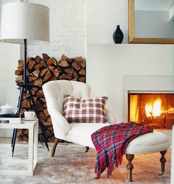 Фотография: Гостиная в стиле Скандинавский, Классический, Дизайн интерьера – фото на INMYROOM