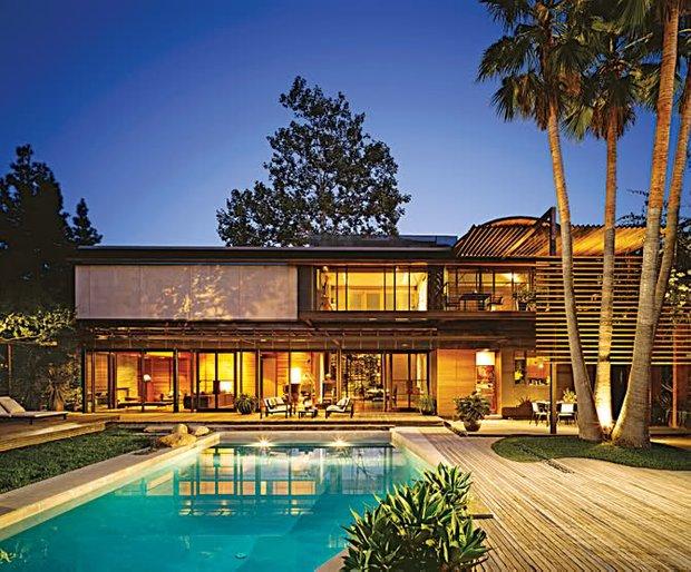 Фотография: Архитектура в стиле Современный, Дом, Дома и квартиры, Интерьеры звезд – фото на INMYROOM