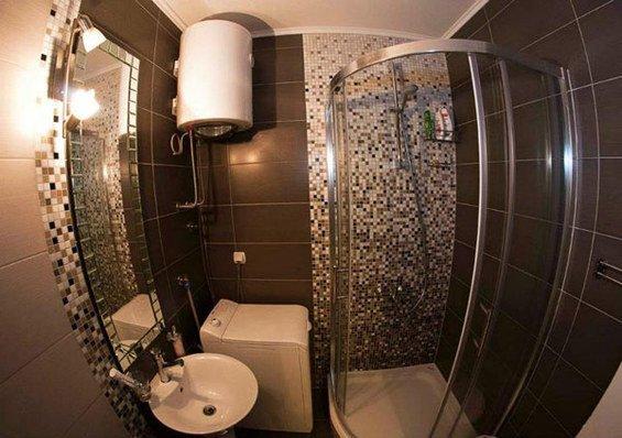Фотография: Ванная в стиле Прованс и Кантри, Скандинавский, DIY, Малогабаритная квартира, Квартира, Дома и квартиры – фото на INMYROOM