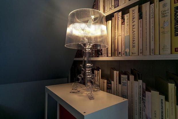 Фотография: Мебель и свет в стиле Современный, Эклектика, Спальня, Лофт, Интерьер комнат, Дача, Дачный ответ, Библиотека, Мансарда – фото на InMyRoom.ru