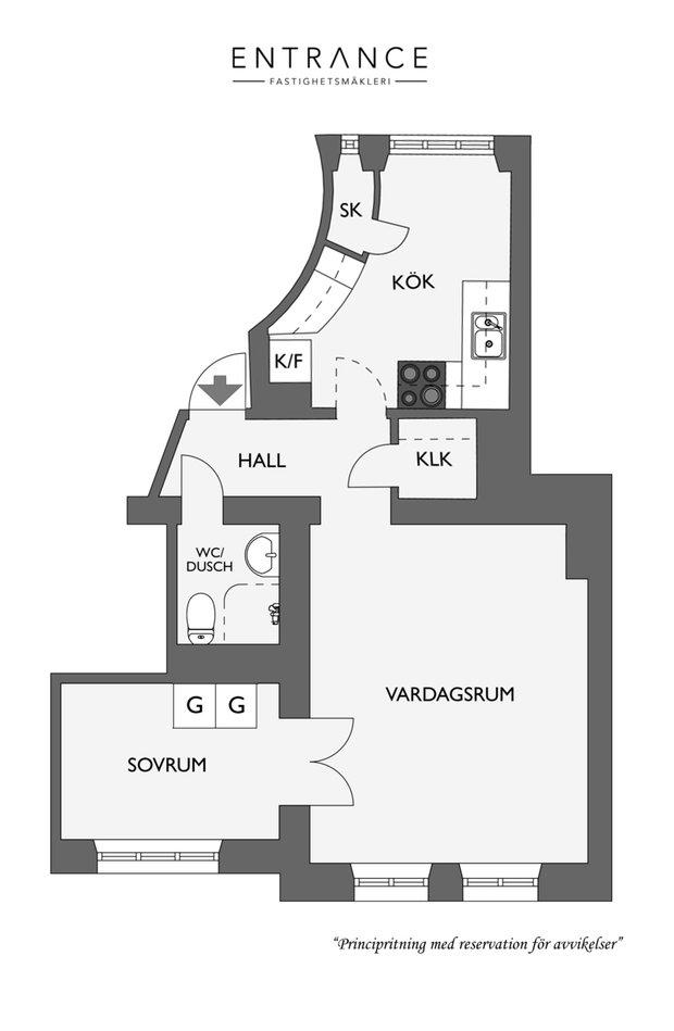 Фотография: Планировки в стиле , Скандинавский, Современный, Декор интерьера, Белый, Серый – фото на INMYROOM