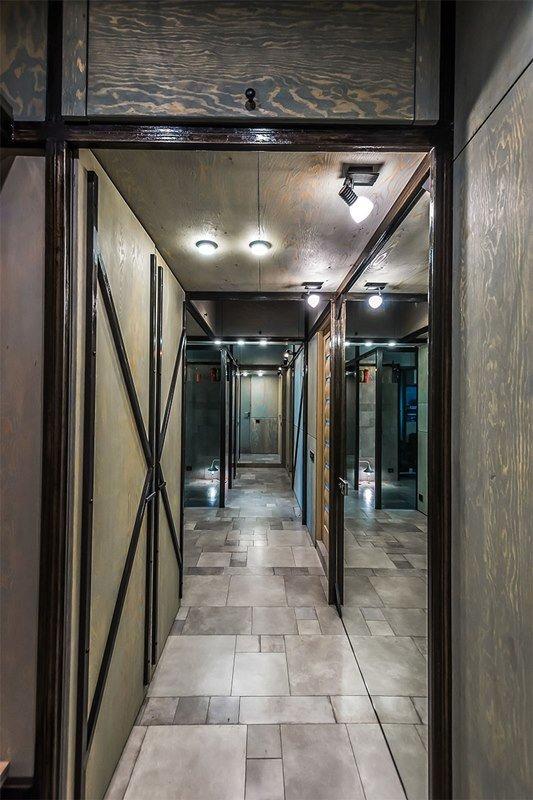 Фотография:  в стиле Современный, Хай-тек, Интерьер комнат, Переделка, Индустриальный – фото на INMYROOM