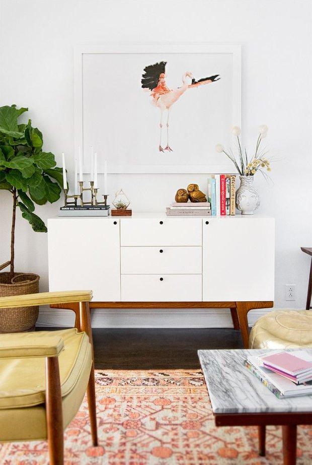 Фотография: Гостиная в стиле Восточный, Интерьер комнат – фото на INMYROOM