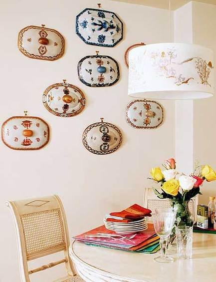 Фотография: Декор в стиле Восточный, Декор интерьера, Декор дома, Цвет в интерьере, Обои – фото на INMYROOM